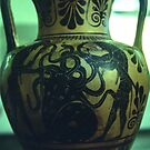 C6 BC Hydra Etruscan Villa Guilia Rome Italy 19840724 0015  by Fred Mitchell