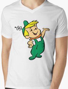 Elroy Jetson Mens V-Neck T-Shirt