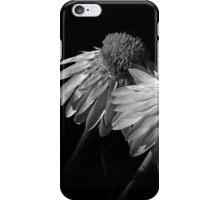 Coneflowers BW iPhone Case/Skin