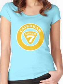 Caterham SUPER 7 Badge1 Women's Fitted Scoop T-Shirt