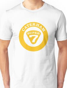 Caterham SUPER 7 Badge1 Unisex T-Shirt