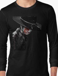 Carl Grimes loses an eye  Long Sleeve T-Shirt