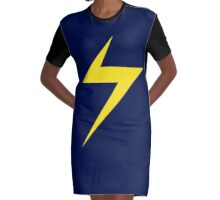 Ms. Marvel Graphic T-Shirt Dress
