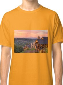 Sunset View from Deck of Luxury Homes Classic T-Shirt