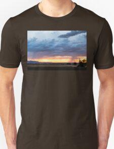 Fort Collins Colorado Sunset Lightning Storm Unisex T-Shirt