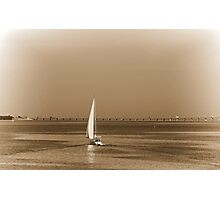 Setting Sail Photographic Print