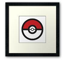 Pokémon GO Pokéball Squad by PokeGO Framed Print