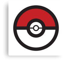 Pokémon GO Pokéball Squad by PokeGO Canvas Print