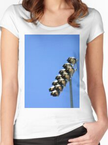 Floodlight Women's Fitted Scoop T-Shirt