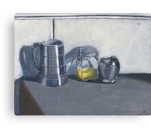 Black and White Still Life Canvas Print