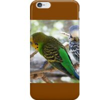 Budgie Photo iPhone Case/Skin