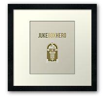 Juke Box Hero Framed Print