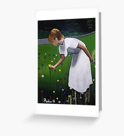 Heather Parker in Treasure Lake, Pa Greeting Card