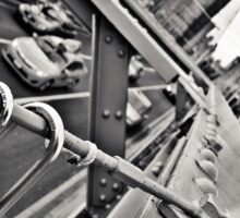 Brooklyn Bridge Lockers Sticker