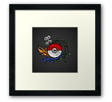Pocket Monster Potential Framed Print