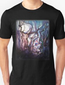 Bad Moon To the Left Unisex T-Shirt