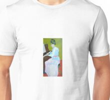 Vincent Van Gogh, Marguerite at the piano Unisex T-Shirt