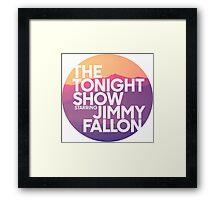 Sunset Jimmy Fallon Framed Print