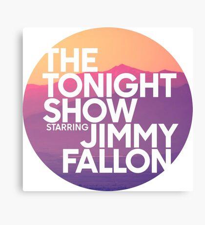Sunset Jimmy Fallon Canvas Print