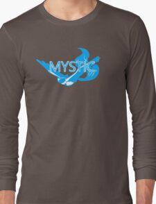 Stylized Team Mystic Print Long Sleeve T-Shirt
