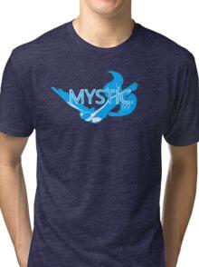 Stylized Team Mystic Print Tri-blend T-Shirt