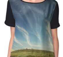 Dusk, Bogong high plains Chiffon Top