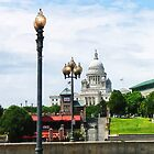 Capitol Building Seen from Waterplace Park by Susan Savad