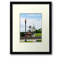 Capitol Building Seen from Waterplace Park Framed Print
