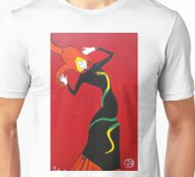 Jane Avril by Toulouse Lautrec Unisex T-Shirt