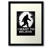 Bigfoot Framed Print