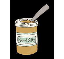 Peanut Butter Jar Photographic Print