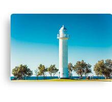 Blue Sky Lighthouse Canvas Print