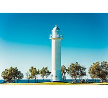 Blue Sky Lighthouse Photographic Print