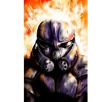 Juggernaut Warrior Photographic Print