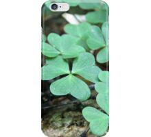 Clover Field iPhone Case/Skin