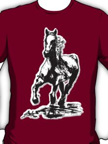 Horses run in her blood T-Shirt