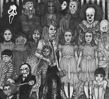 horror villains by brogan archibald