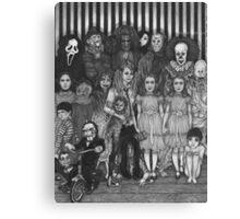 horror villains Canvas Print