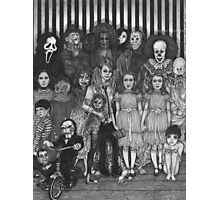 horror villains Photographic Print