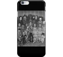 horror villains iPhone Case/Skin