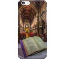 From The Hymn Book iPhone Case/Skin