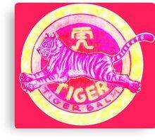 Tiger Balm Red Canvas Print