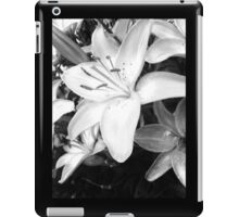Black and White by Snow iPad Case/Skin