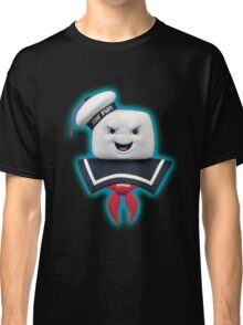 Ghostbusters - Stay Puft Marshmallow Man Bust Classic T-Shirt