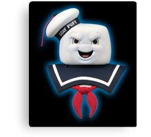 Ghostbusters - Stay Puft Marshmallow Man Bust Canvas Print