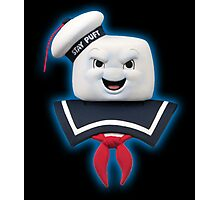 Ghostbusters - Stay Puft Marshmallow Man Bust Photographic Print
