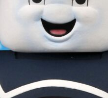 Ghostbusters - Stay Puft Marshmallow Man Bust Sticker