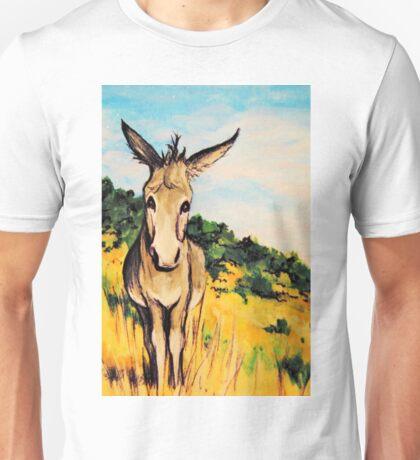 Cripple Creek Colorado~JackAss~Donkey~Burro~Whimsical Unisex T-Shirt