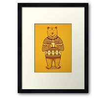 Keep Warm Framed Print