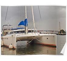 Marina Boat Poster